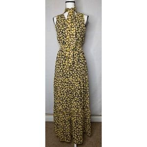 NWT Who What Wear Floral Dress XS